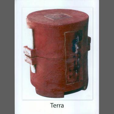 Terra Dunkelrot mit Detailbemalung Verfügbarkeit anfragen !!!